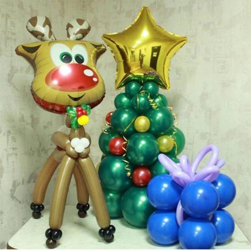 """Композиция из шаров """"Новый год №11"""""""