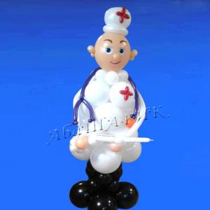 """Фигура из шаров """"Доктор"""""""
