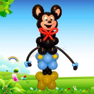"""Фигура из шаров """"Мощный Микки-маус"""""""