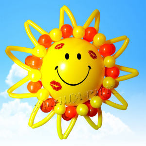 "Фигура из шаров ""Солнышко"""