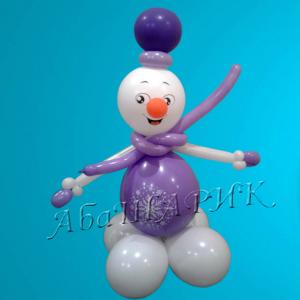 "Фигура из шаров ""Снеговики № 4"""