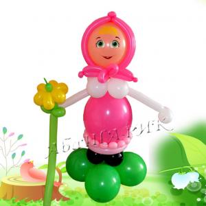 """Фигура из шаров """"Машенька"""""""