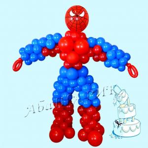 """Фигура из шаров """"Человек совершенный"""""""