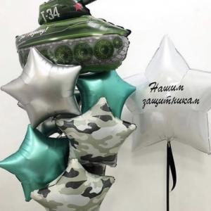 """Оформление шарами праздника № 32 """"23 февраля"""""""
