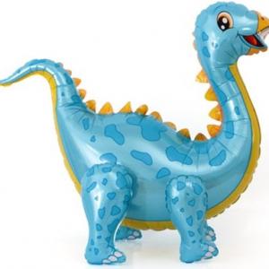 """Ходячая фигура """"Динозавр Стегозавр (голубой)"""""""