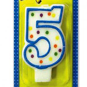 Свеча - цифра для торта