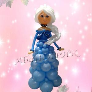 """Фигура из шаров """"Принцесса"""""""