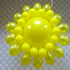 "Фигура из шаров ""Солнышко № 2"""