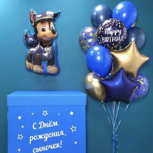 Коробка с шарами №137