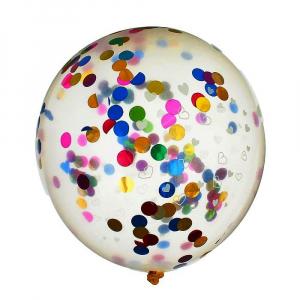 Шар гелиевый (конфетти ) 46 см.