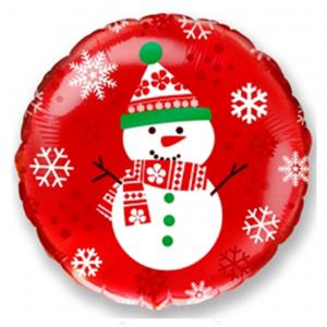 """Шар фольгированный """"Медвежонок - мальчик (синий)"""""""