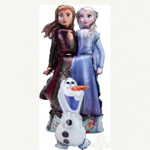 """Ходячая фигура """"Холодное сердце. Принцессы и Олаф"""""""