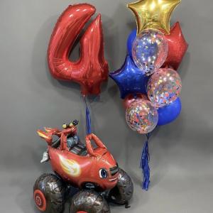 Композиция из шаров № 525 «День рождения»