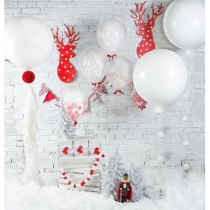 """Композиция из шаров """"Новый год №6"""""""