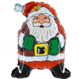 "Шар фольгированный ""Супер Дед Мороз"""