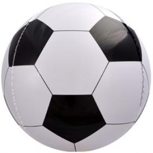 """Шар сфера 3D """"Футбольный мяч (черный)"""""""