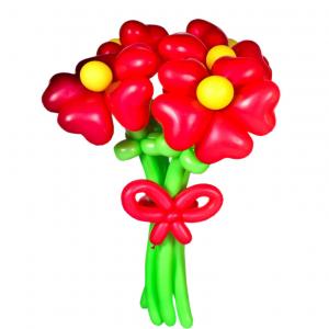 "Цветы из шаров № 29 ""Заря"""