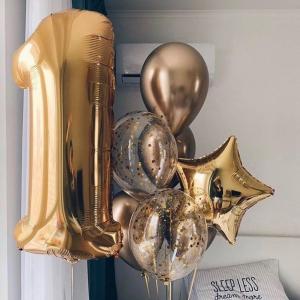 Композиция из шаров №  9 «День рождения»