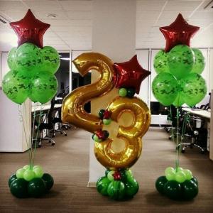 """Оформление шарами праздника № 21 """"23 февраля"""""""