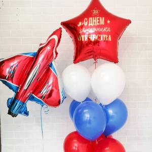 """Оформление шарами праздника № 24 """"23 февраля"""""""