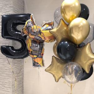 """Композиция из шаров № 984 """"День рождения"""""""