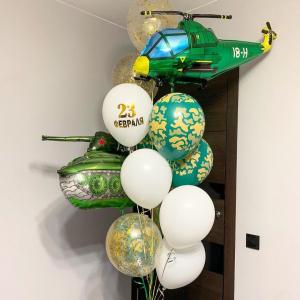 """Оформление шарами праздника № 30 """"23 февраля"""""""