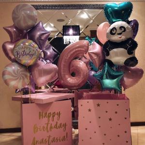 Коробка с шарами №90