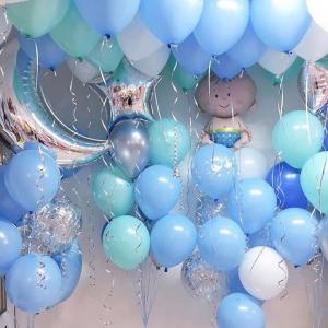 Оформление шарами выписки № 45