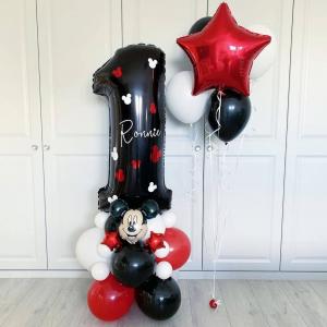 """Композиция из шаров № 992 """"День рождения"""""""