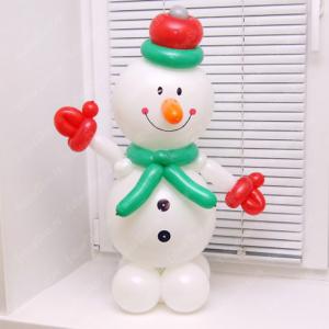 """Фигура из шаров """"Снеговик № 5"""""""