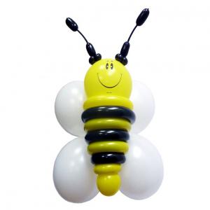 """Фигура из шаров """"Пчела из гелиевых шаров"""""""