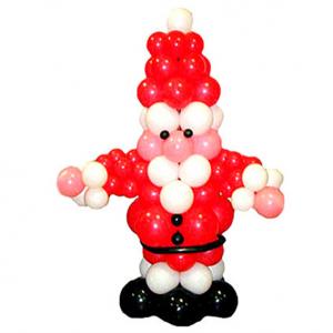 """Фигура из шаров """"Дед Мороз № 2"""""""