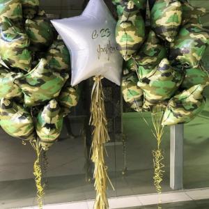 """Оформление шарами праздника № 33 """"23 февраля"""""""