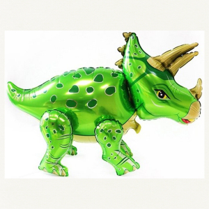 """Ходячая фигура """"Динозавр Трицератопс (зеленый)"""""""