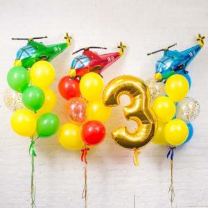 Композиция из шаров № 535
