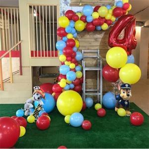"""Композиция из шаров № 965 """"День рождения"""""""