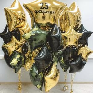 """Оформление шарами праздника № 34 """"23 февраля"""""""