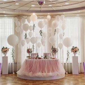 Оформление шарами свадьбы № 77