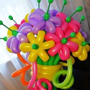 "Цветы из шаров № 22 ""Забава"""