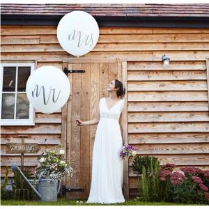 Оформление свадьбы шарами № 90