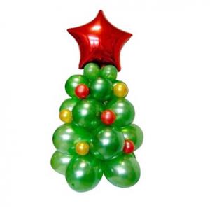 """Ваш подарок - фигура из шаров """"Ёлка новогодняя №10"""""""
