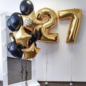 """Композиция из шаров № 296 """"День рождения"""""""