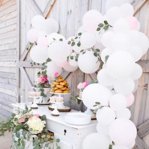 Оформление шарами свадьбы № 57
