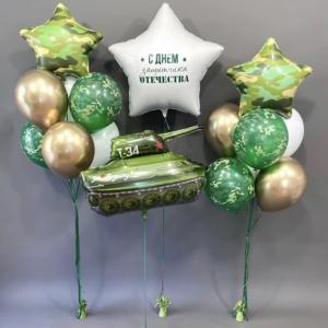 Оформление шарами праздника № 36 «23 февраля»