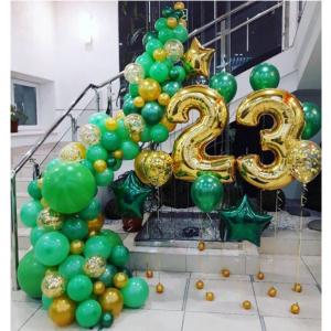 """Оформление шарами праздника № 19 """"23 февраля"""""""