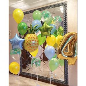 """Композиция из шаров № 404 """"День рождения"""""""