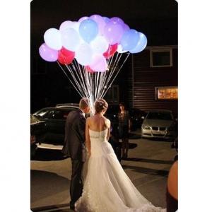 Оформление шарами свадьбы № 46