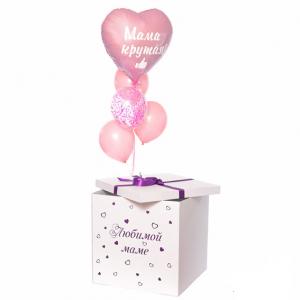 Коробка-сюрприз с шарами №44