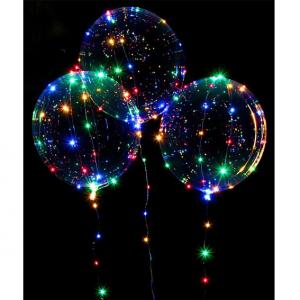 """Шар-Сфера """"Бо-Бо"""" 3D Bubble светящийся гелиевый"""