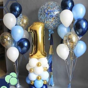 """Композиция из шаров № 609 """"День рождения"""""""